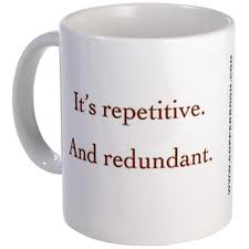Repetitions or Redundantitions?